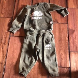Toddler Roots outfit